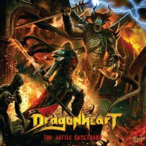 DRAGONHEART – The Battle Sanctuary (CD  Cyprus Press) , Heavy/Power Metal Brazil