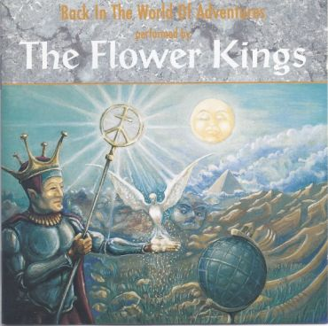 FLOWER KINGS - Back In The World Of Adventures (CD-Sweden-1995), Progressive Rock