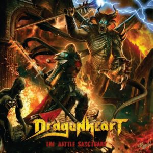 DRAGONHEART ‎– The Battle Sanctuary (CD  Cyprus Press) , Heavy/Power Metal Brazil